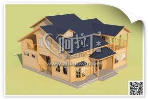 材料简单创意无限 重庆木屋厂家独特的筑造个性风格木屋