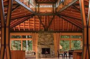 木屋,自然的隐居者,会呼吸的房子