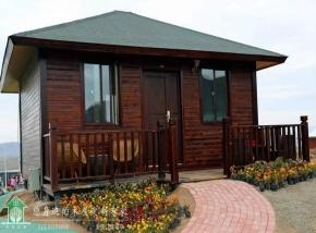 48平米单层独栋木屋套房