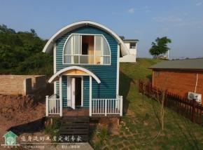 73㎡一室一厅一厨一卫小木屋别墅