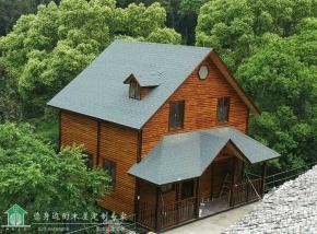 134平米双层两室两厅木屋别墅